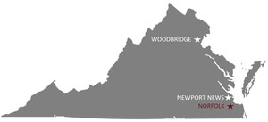 Apple Moving Company locations in Virginia